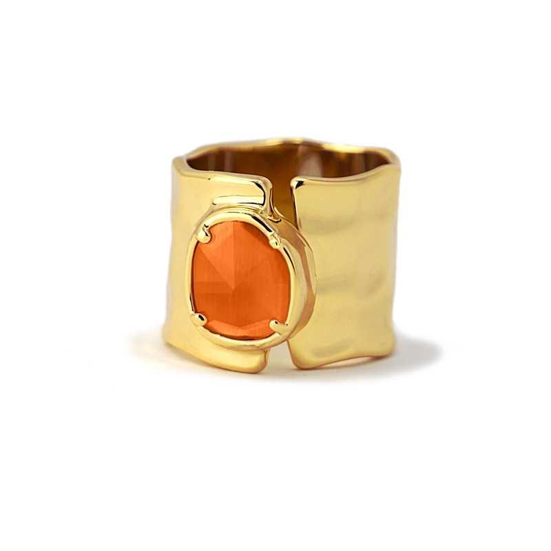 Anillo Citrus Naranja