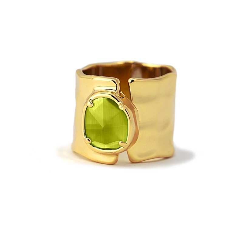 Anillo Citrus Verde