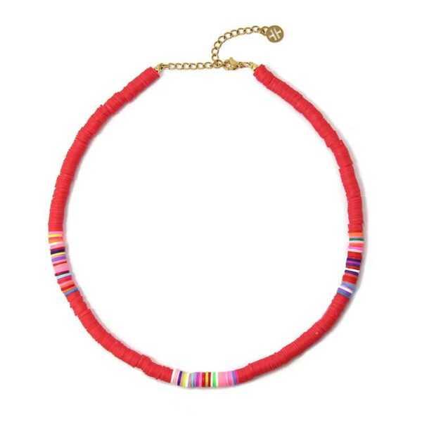Collar Thaithi Rojo