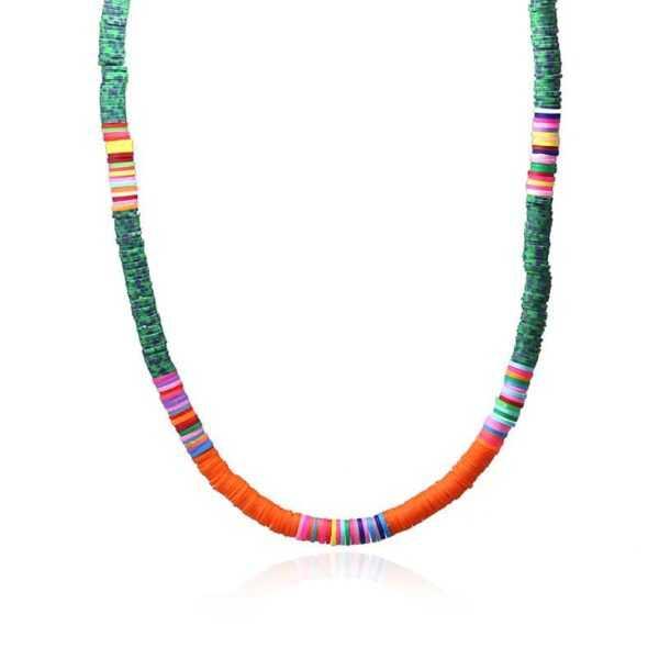 Collar Thaithi Verde Oscuro