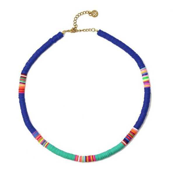 Collar Thaithi Azul Marino