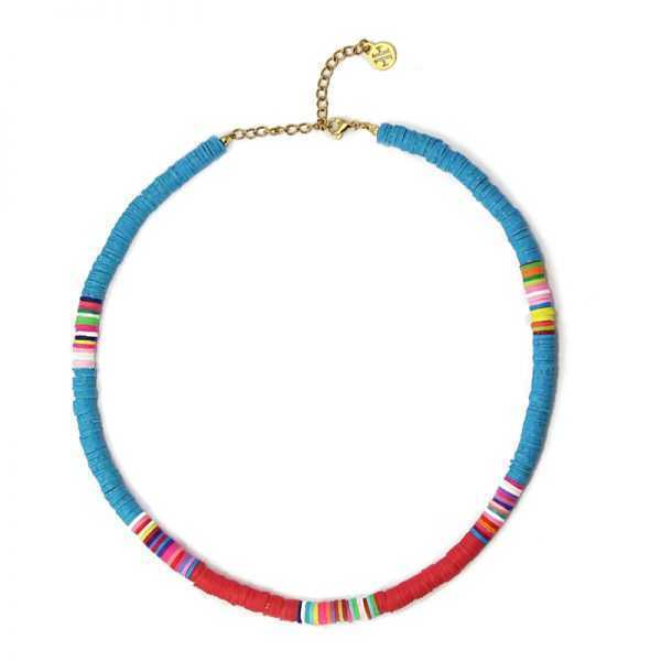 Collar Thaithi Azul Mar